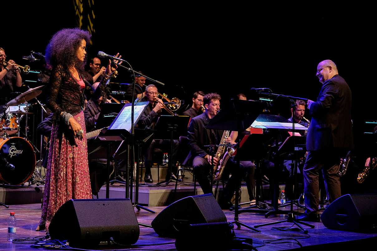 Morgane Ji et l'Orchestre National Jazz Luxembourg