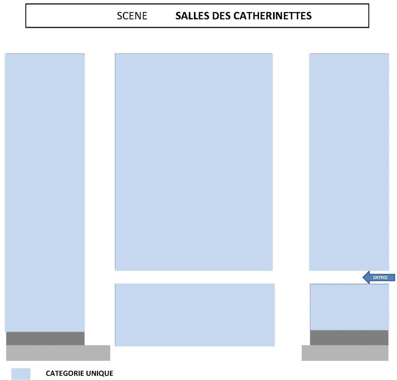 Salle des catherinettes
